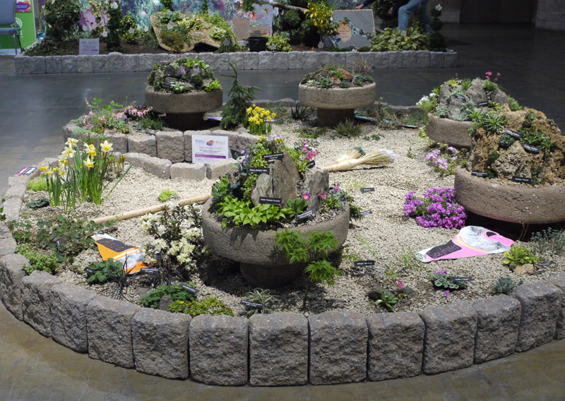 our flower show exhibit